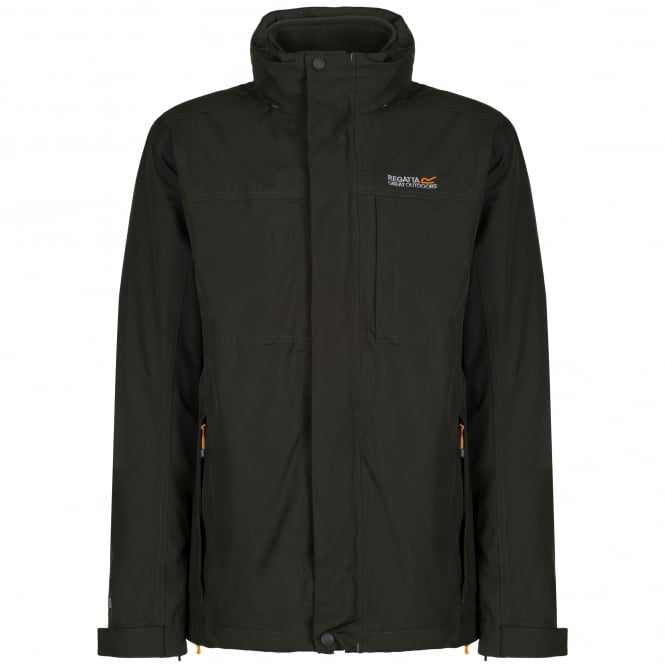 Regatta Mens Northmore 3 in 1 Jacket Bayleaf