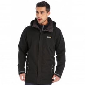 Mens Telmar 3 in 1 Jacket Black