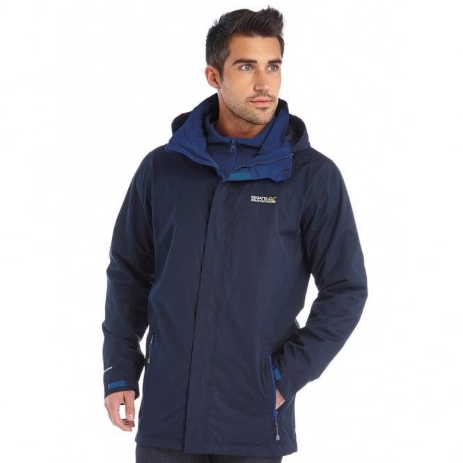 shop for genuine detailing variety styles of 2019 Mens Telmar 3 in 1 Jacket Navy