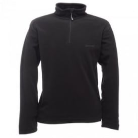 Mens Thompson Overhead Fleece Black