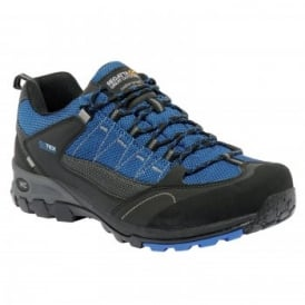 Mens UltraMax II Low Shoe Black/Ox Blue