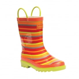 Minnow Junior Wellington Boot TrailBlaze