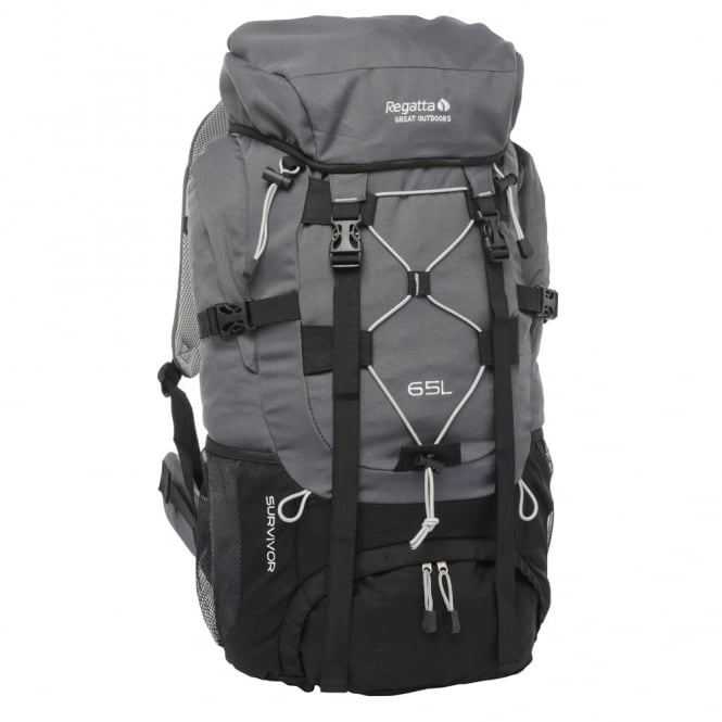 Regatta Survivor 65 Litre Rucksack Seal Grey