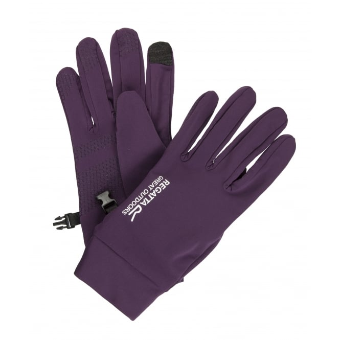 Regatta TouchTip Stretch Glove Blackberry