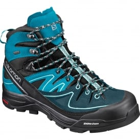 Ladies X Alp Leather Gtx Boot Black