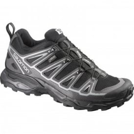 Mens X Ultra 2 Gtx Shoe Black/Aluminium