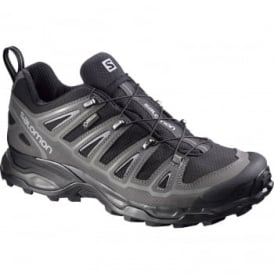 Mens X Ultra 2 Gtx Shoe Black/Pewter