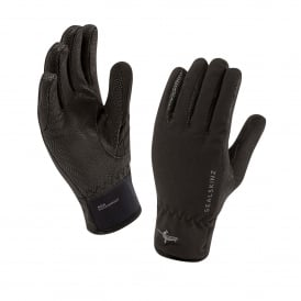 Ladies Sea Leopard Glove Black