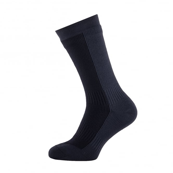 Sealskinz Mens Hiking Mid Sock Black