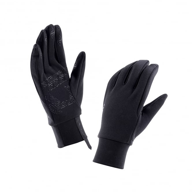 Sealskinz Mens Stretch Fleece Glove Black