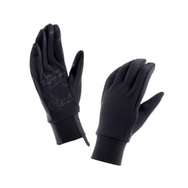 Mens Stretch Fleece Glove Black