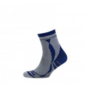 Mens Thin Ankle Length Sock Grey