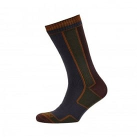 Mens Walking Sock Green