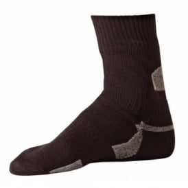 Unisex Thin Ankle Length Sock Black
