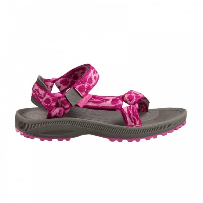 9c9246bfbd7daa Teva Kids Hurricane Sandal Poppies Berry - Footwear from Great ...