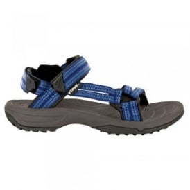 Ladies Terra Fi Lite Sandal Double Zipper Blue