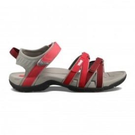 Ladies Tirra Sandal Red Gradient