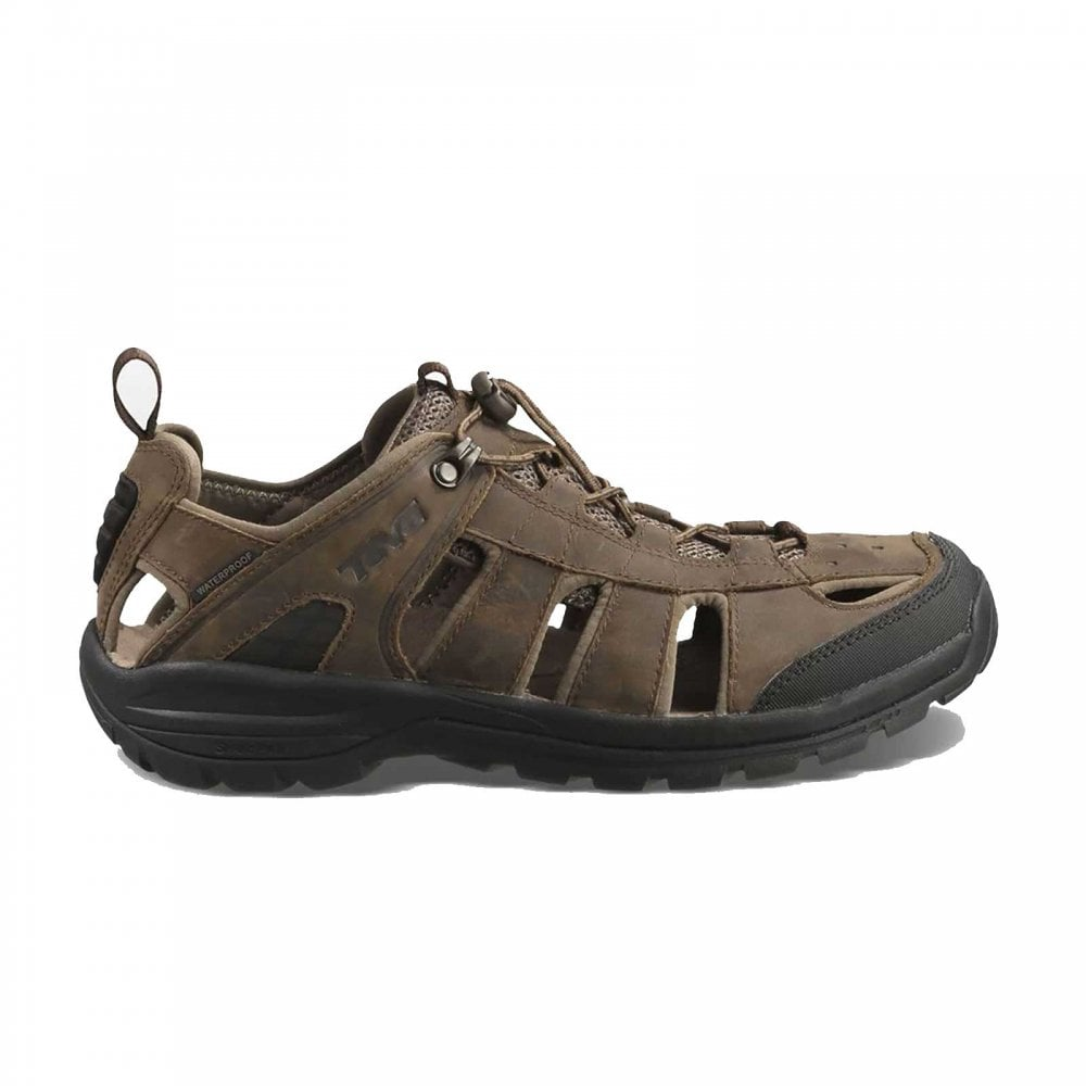 c3f22a180003 Teva Mens Kimtah Leather Sandal Turkish Coffee - Footwear from Great  Outdoors UK