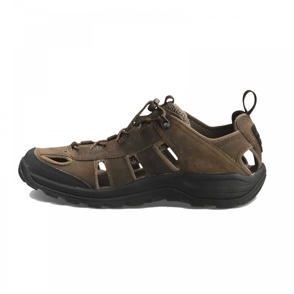 60e74536c17ff0 Teva Mens Kimtah Leather Sandal Turkish Coffee - Footwear from Great ...