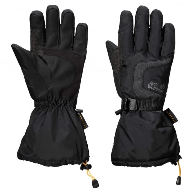 Jack Wolfskin Texa Winter Glove - Black