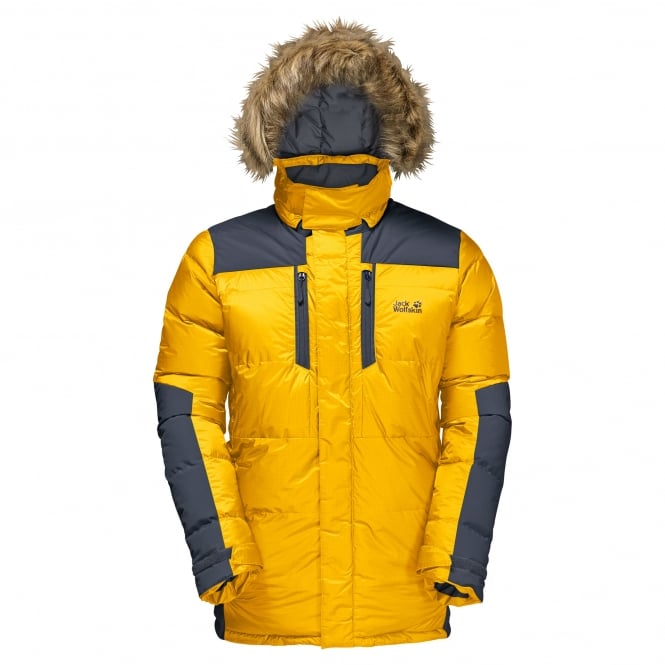 Jack Wolfskin The Cook M Parka - B.Yellow