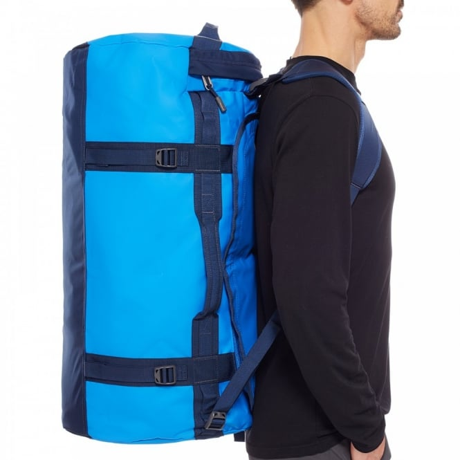 The North Face Base Camp Duffel Large Bomber Blue Cosmic Blue ... 91a150189