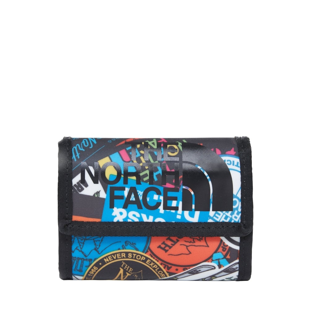 1dab86148 Base Camp Wallet TNF Red Sticker Bomb Print