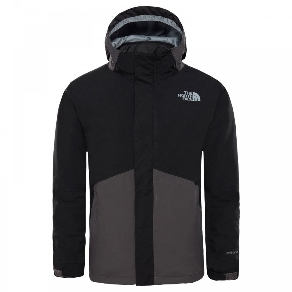 f858b8c5c874 The North Face Boys Boundary Triclimate Jacket Graphite Grey - Kids ...