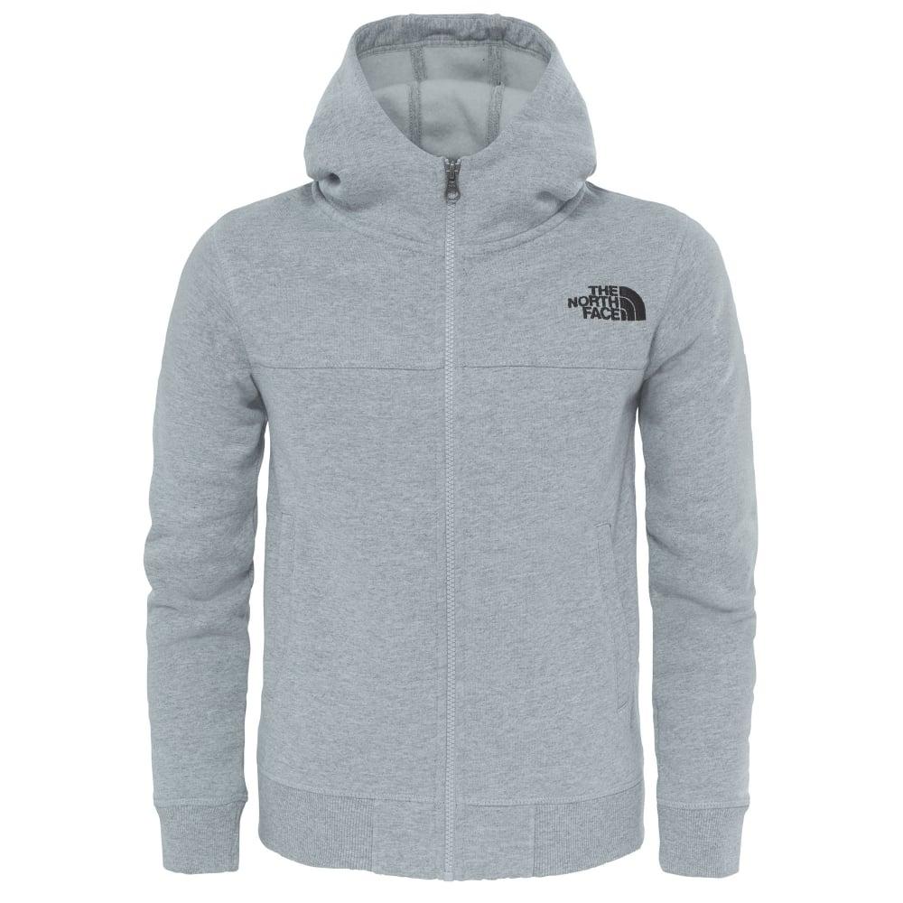 476656d6c Boys Drew Peak Full Zip Fleece Light Grey