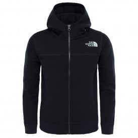 Boys Drew Peak Full Zip Fleece TNF Black