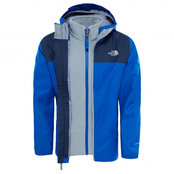 The North Face Boys Elden Triclimate Jacket Cobalt