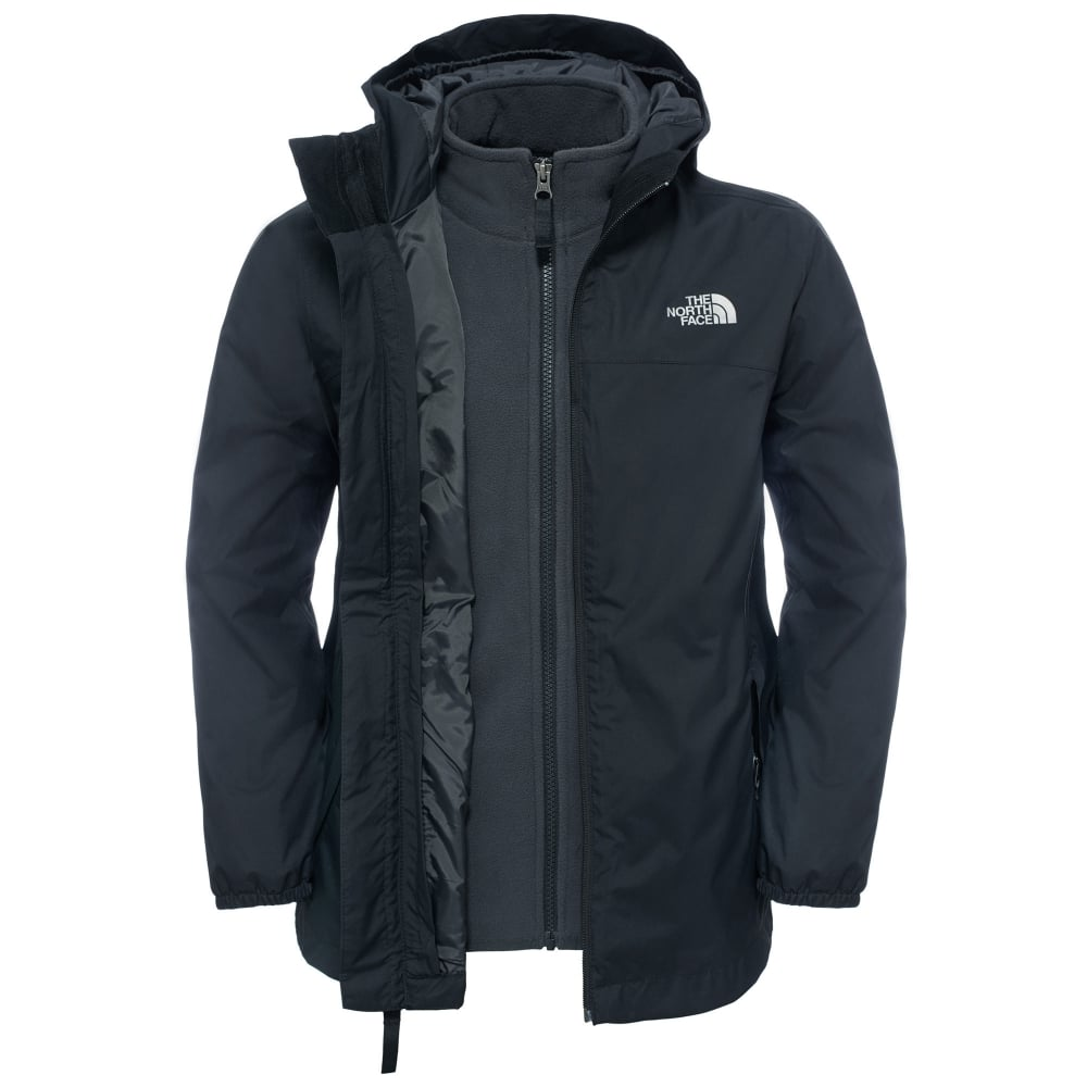 4a5ffd3089de The North Face Boys Elden Triclimate Jacket TNF Black - Kids from ...