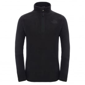 Boys Glacier 1/4 Zip Fleece TNF Black