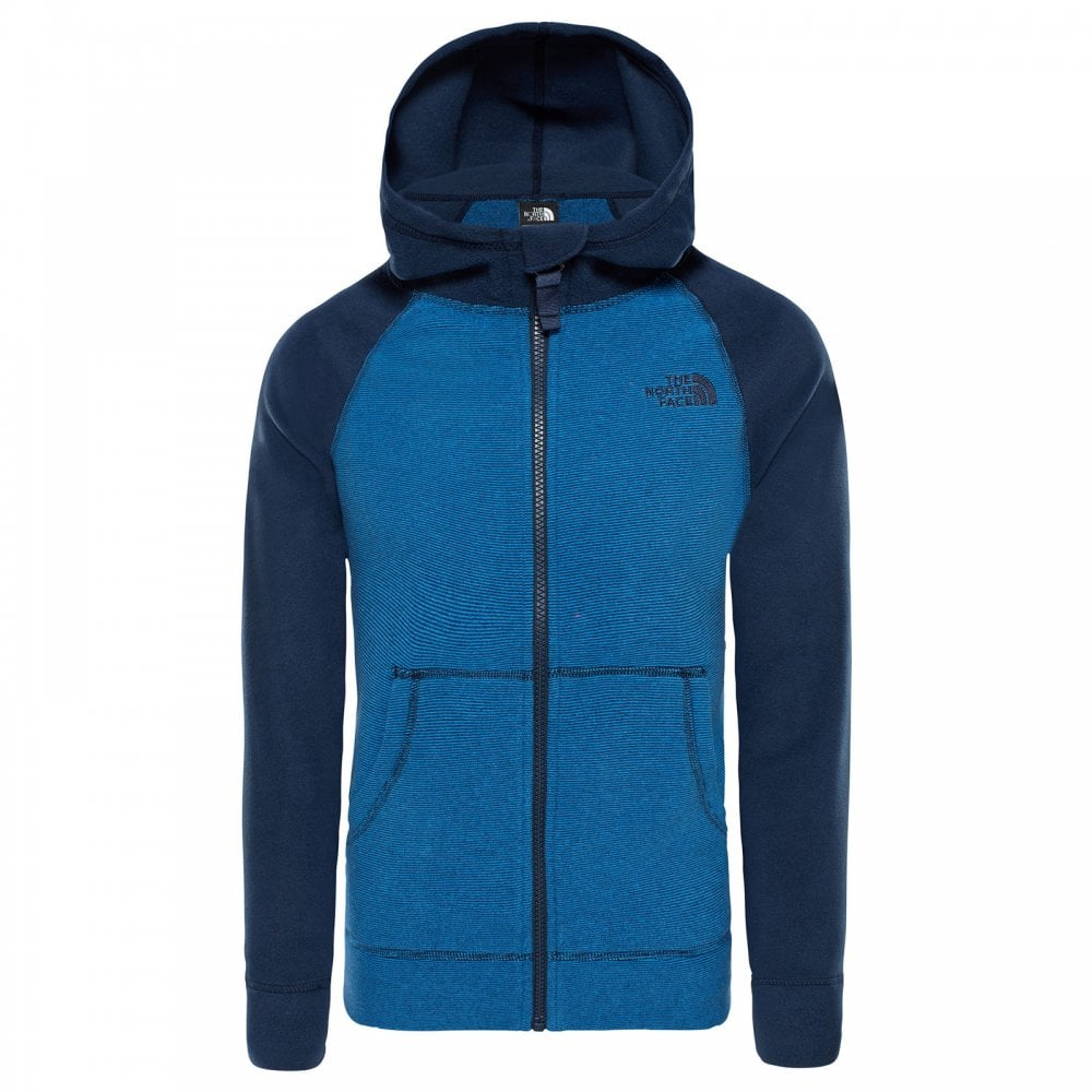 0dda09594 Boys Glacier Full Zip Hoodie Turkish Sea/Cosmic Blue