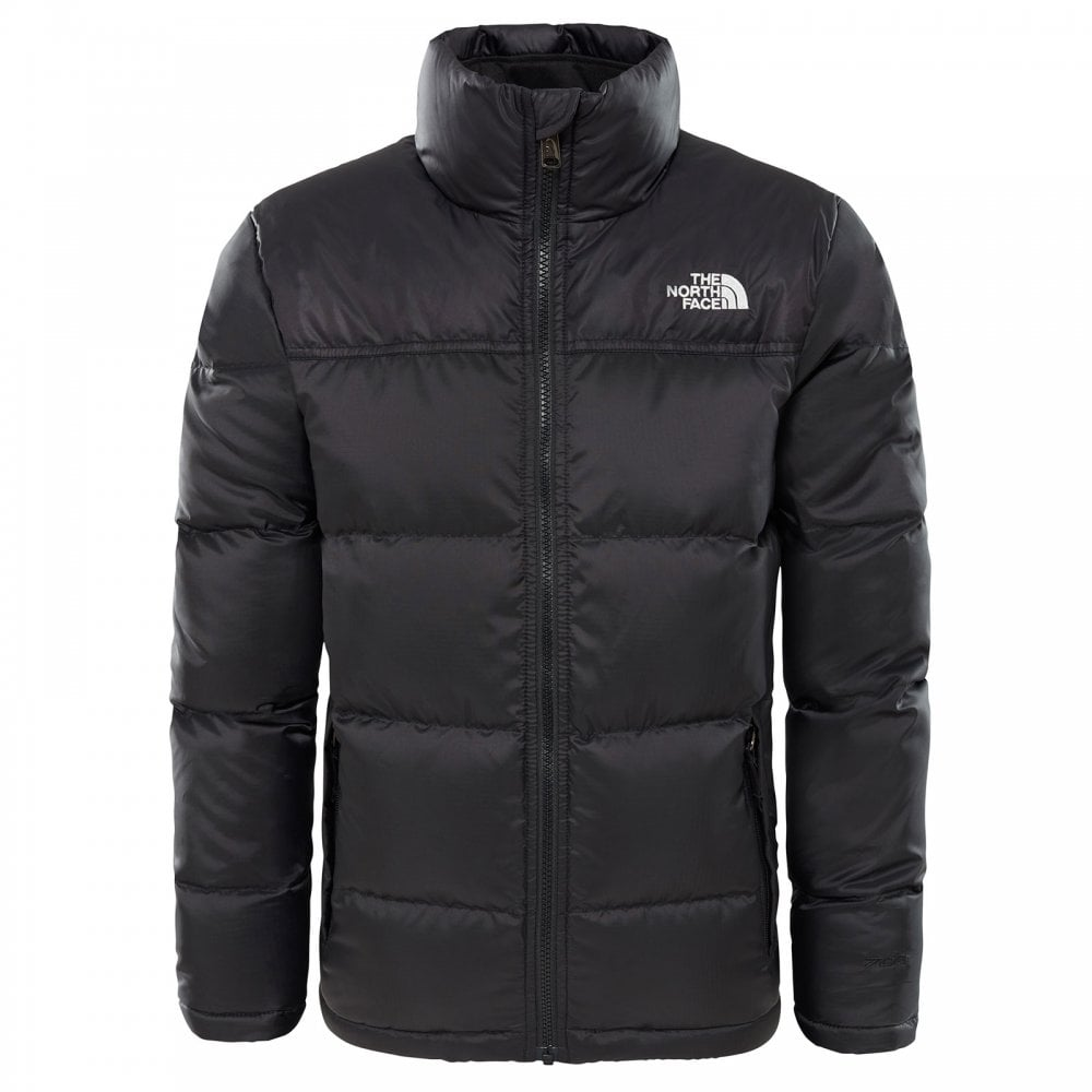 6ef71c3ef26d8 The North Face Boys Nuptse Down Jacket TNF Black - Kids from Great ...