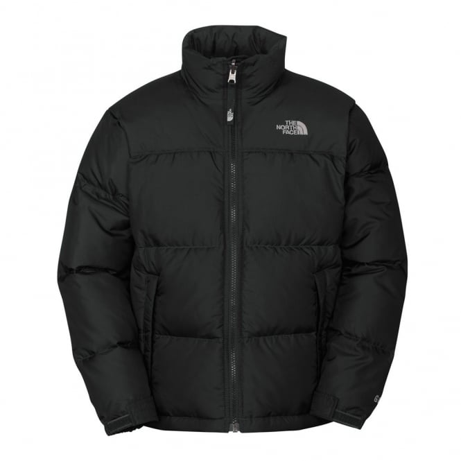Efterstræbte The North Face Boy's Black Nuptse Jacket - Free UK Delivery RG-41