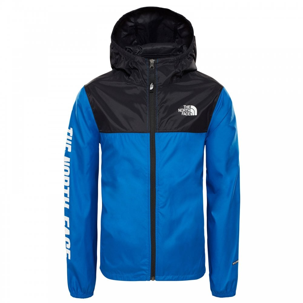 7dc1de377a The North Face Boys Reactor Wind Jacket Turkish Sea - Kids from ...