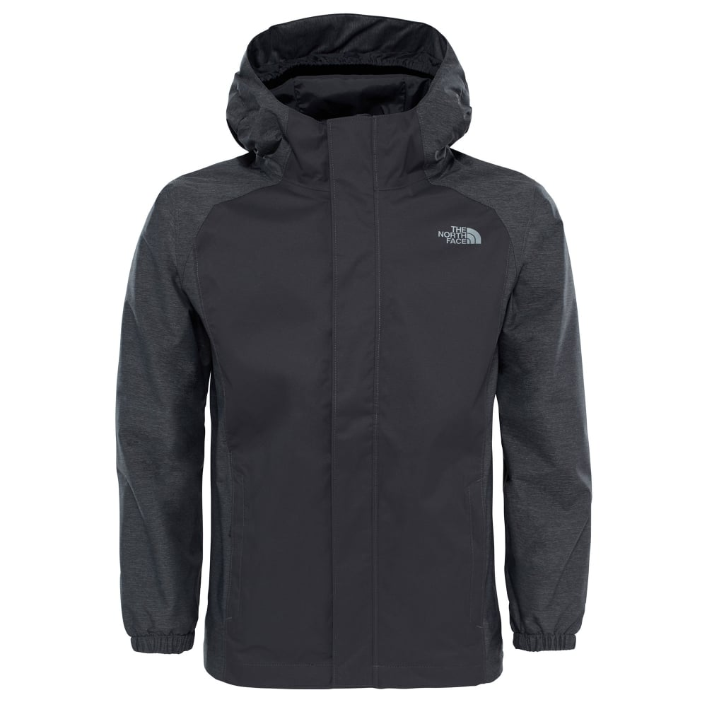 7bcc99a5c8 The North Face Boys Resolve Reflective Jacket Graphite Grey - Kids ...