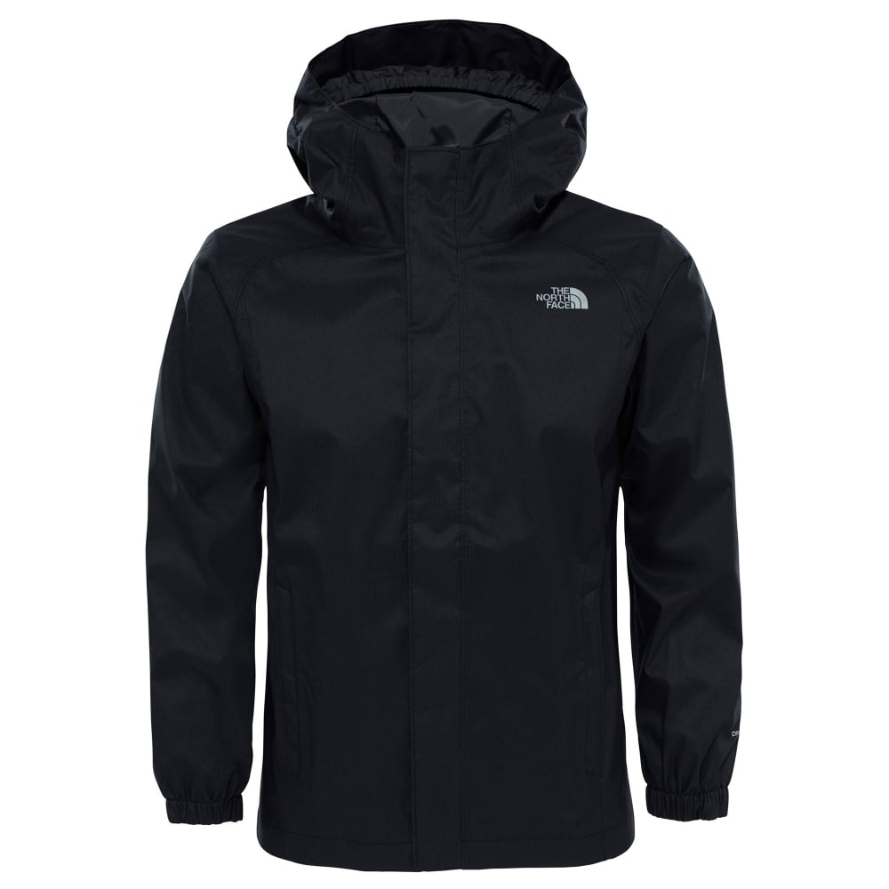 208129b372ef The North Face Boys Resolve Reflective Jacket TNF Black - Kids from ...