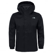 48713e1859 Boys Resolve Reflective Jacket TNF Black