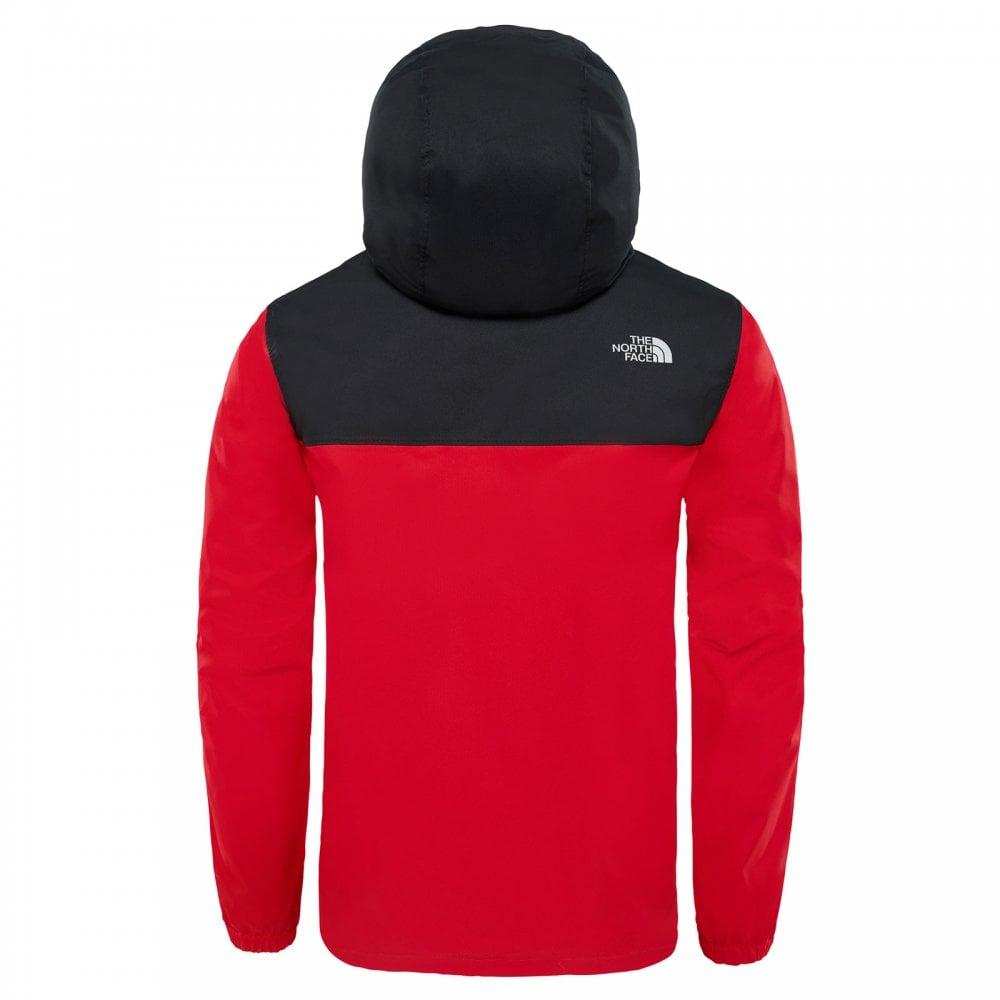 8783e3137 Boys Resolve Reflective Jacket TNF Red