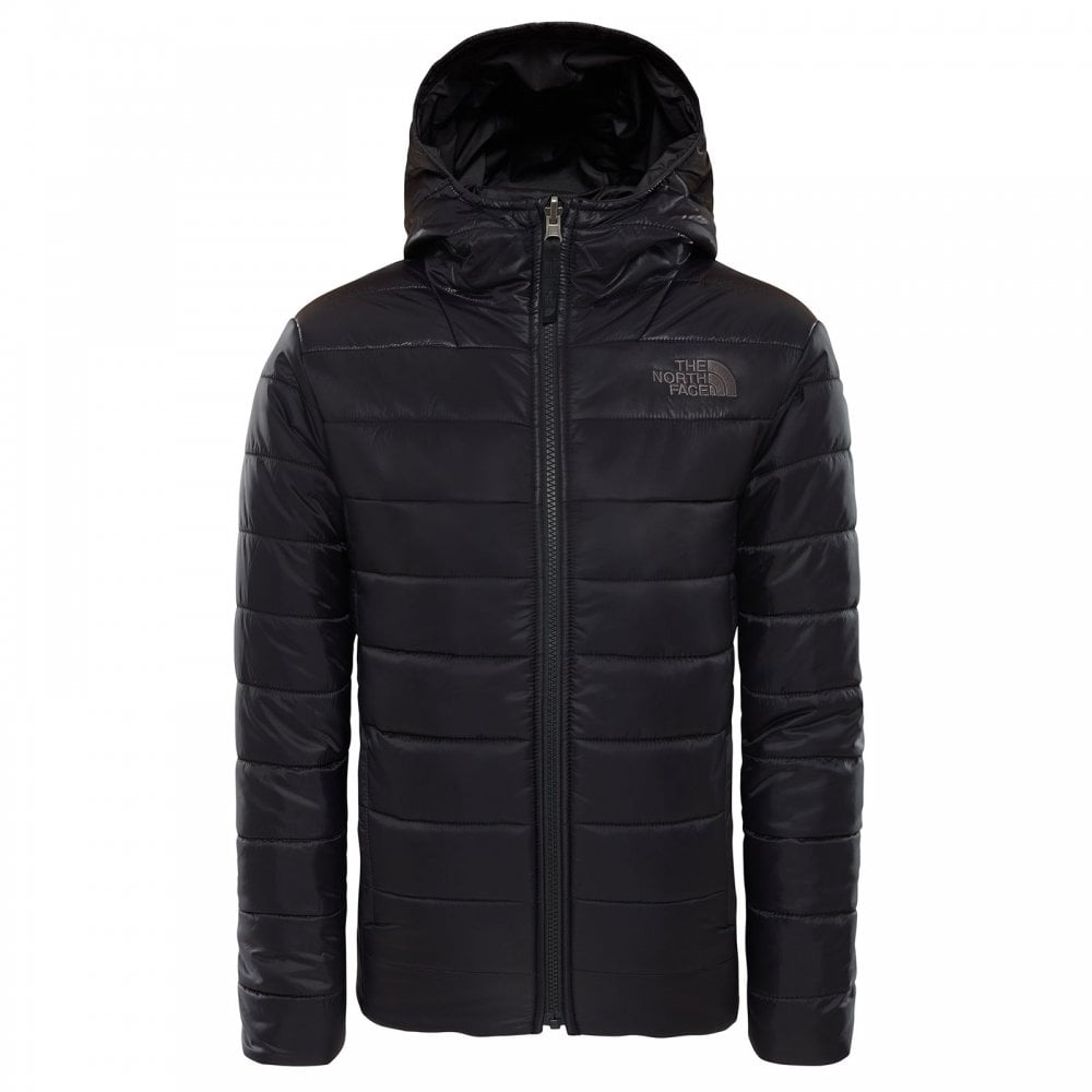 aff71f267 The North Face Boys Reversible Perrito Jacket TNF Black - Kids from ...