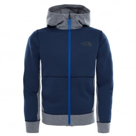 Boys Slacker Fleece Hoodie Cosmic Blue