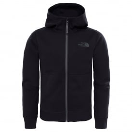 Boys Slacker Fleece Hoodie TNF Black