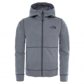Boys Slacker Fleece Hoodie TNF Medium Grey Heather
