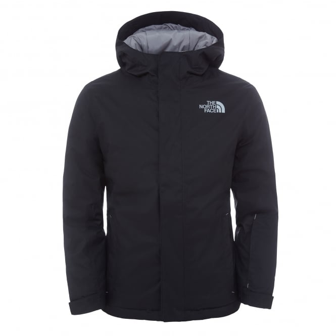The North Face Boys Snow Quest Jacket Black