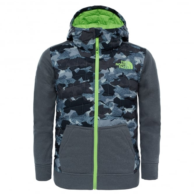 The North Face Boys Thermoball Canyonlands Hoodie Graphite Grey