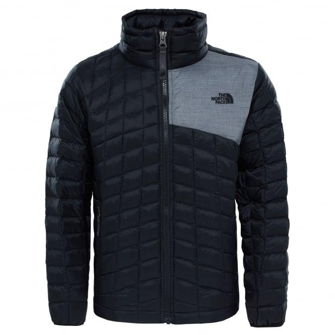 d71dd3b3b The North Face Boys Thermoball Full Zip Jacket TNF Black