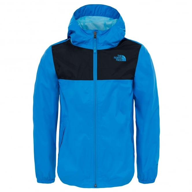 88c89ab00882 The North Face Boys Zipline Rain Jacket Clear Lake Blue - Kids from ...