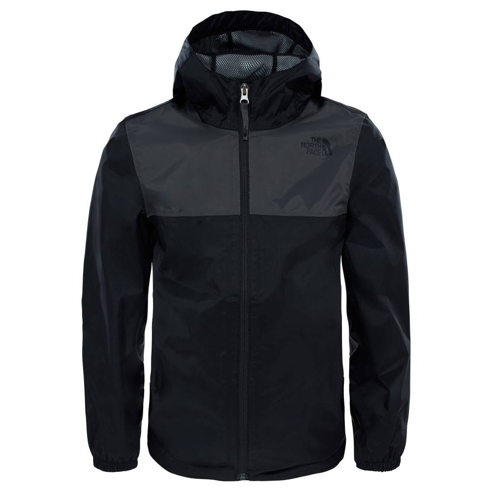 9fc81cb86c76 The North Face Boys Zipline Rain Jacket TNF Black - Kids from Great ...